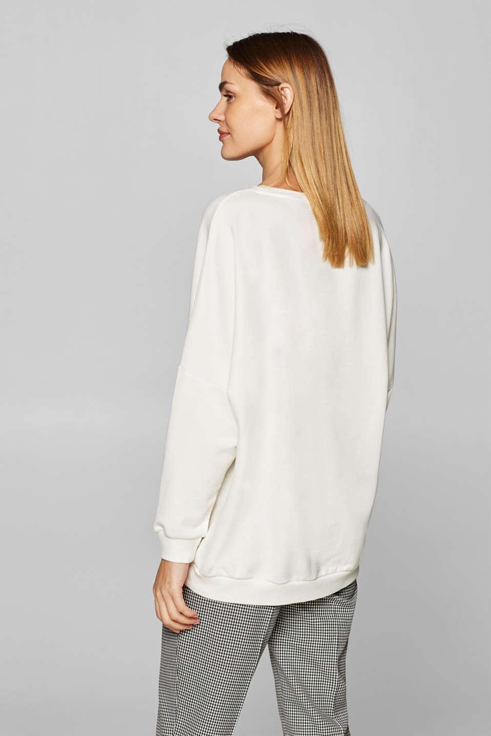 Sweatshirts, OFF WHITE, detail image number 3