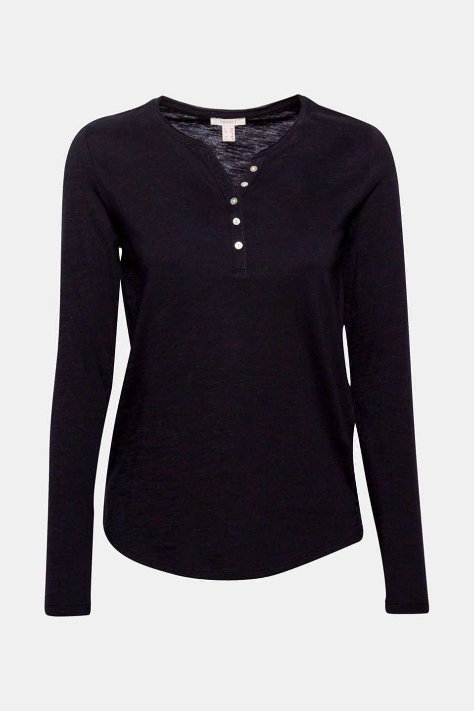 T-Shirts, BLACK, detail image number 8