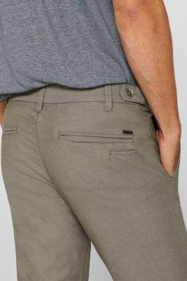 599cc9f6ccdc6f Esprit - Stretch-Pants aus Baumwoll-Mix im Online Shop kaufen