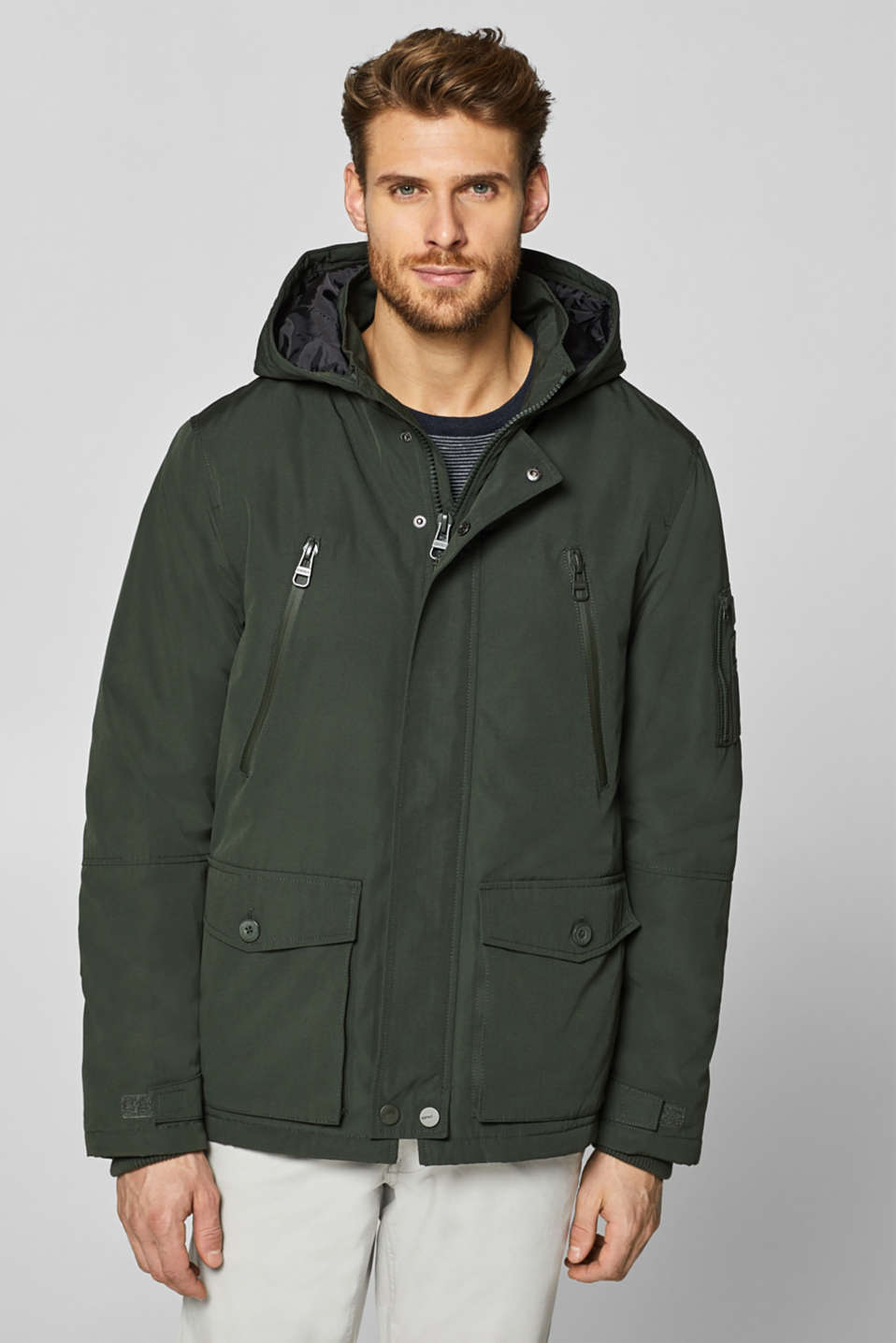 Esprit - Hooded jacket