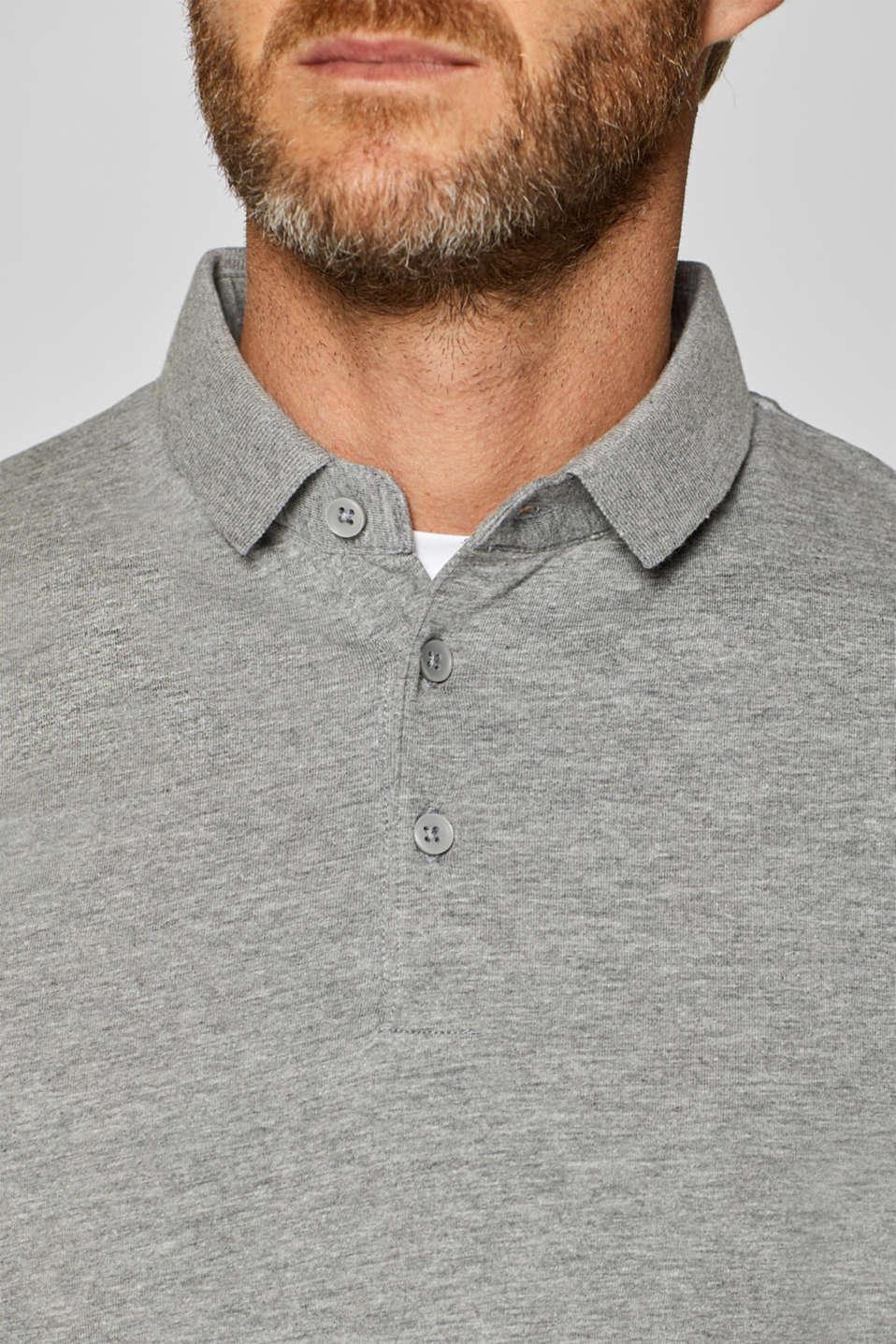 Polo shirts, MEDIUM GREY, detail image number 1