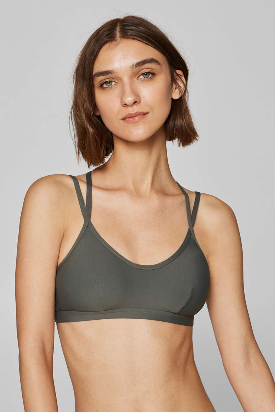 Esprit - Padded top with net details