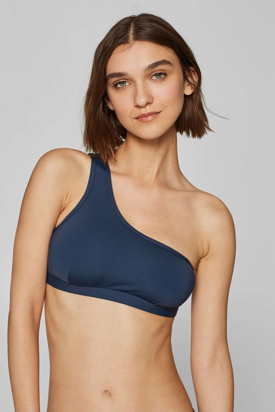 Esprit - One-Shoulder-Top mit Lochmuster