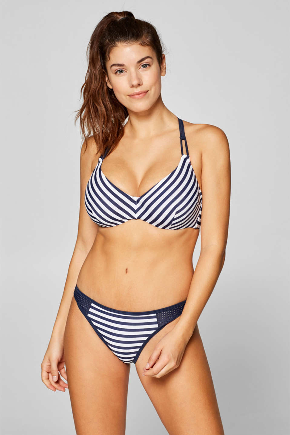 Esprit - Underwire top for large cup sizes