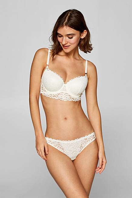 67b89c2d70 Padded underwire bra in lace