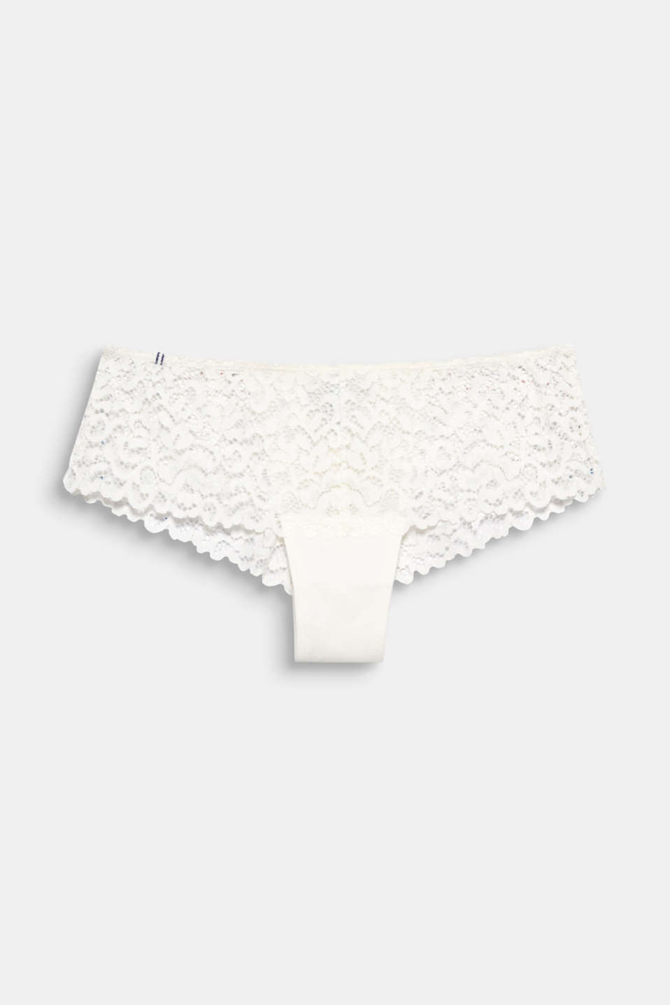 Esprit - Hipster shorts in ornamental lace