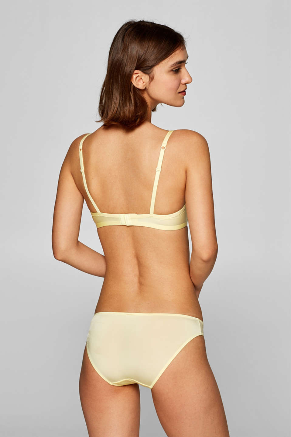 Bras with wire, LIME YELLOW, detail image number 1