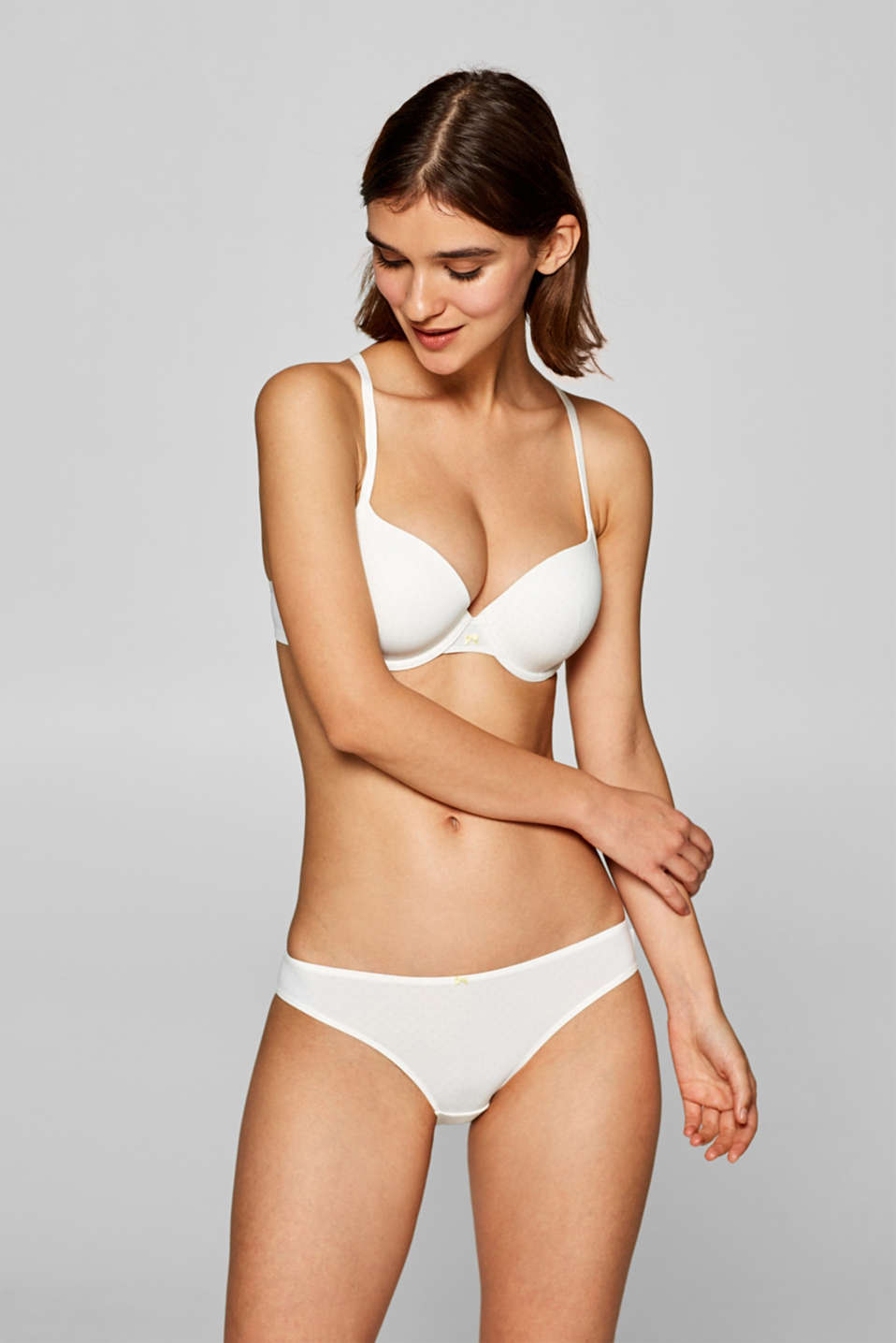 Esprit - Hipster brief with a delicate print