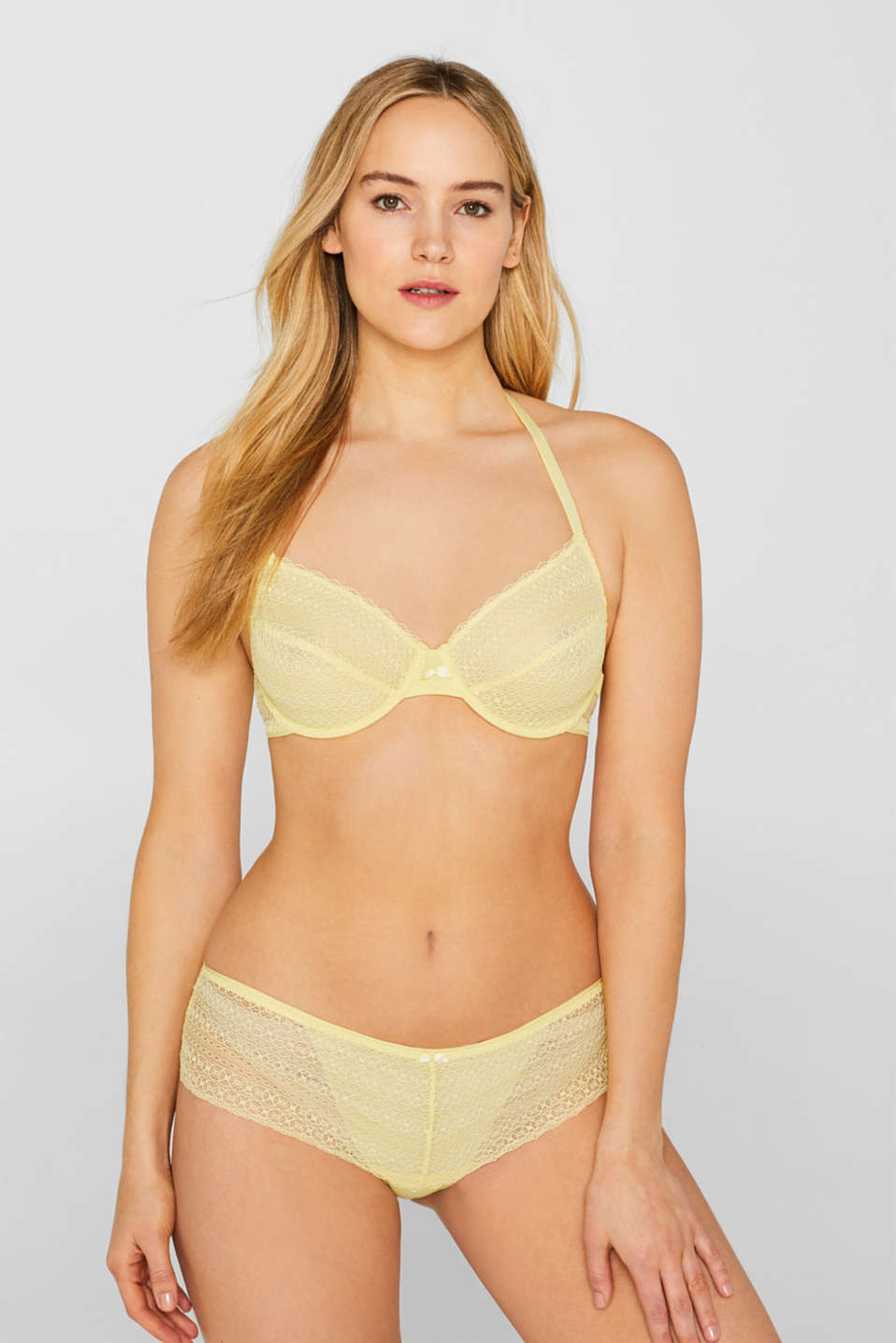 Bras with wire, LIME YELLOW, detail image number 3