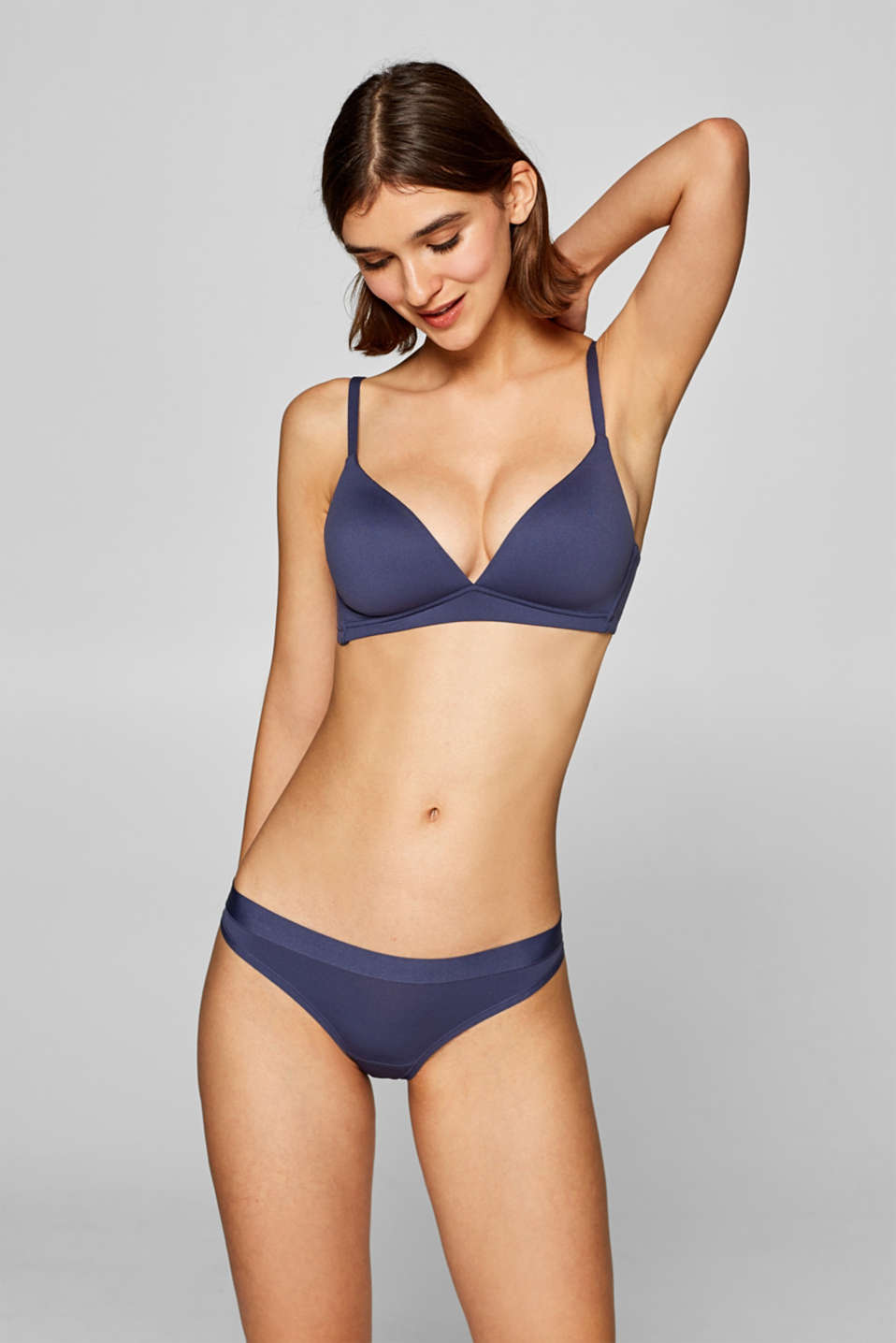 Esprit - AIR padded, non-wired bra in a basic design