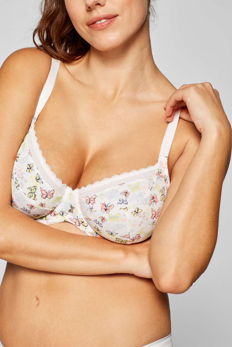 Bras with wire, OFF WHITE, detail image number 2