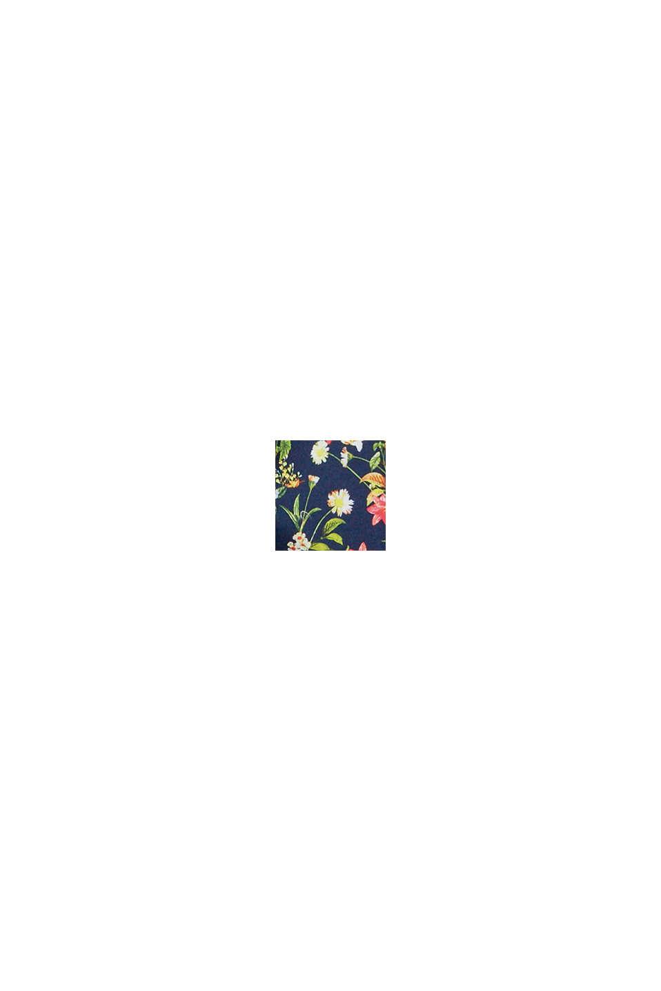Badshorts med blommönster, NAVY, swatch