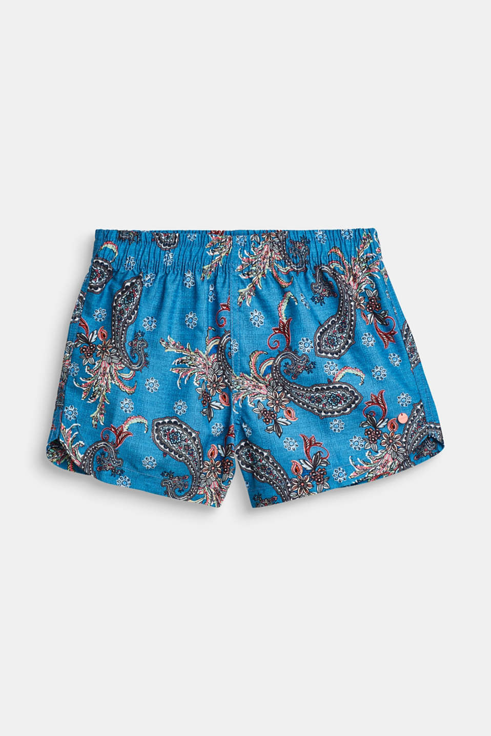 Esprit - Swim shorts with a paisley print