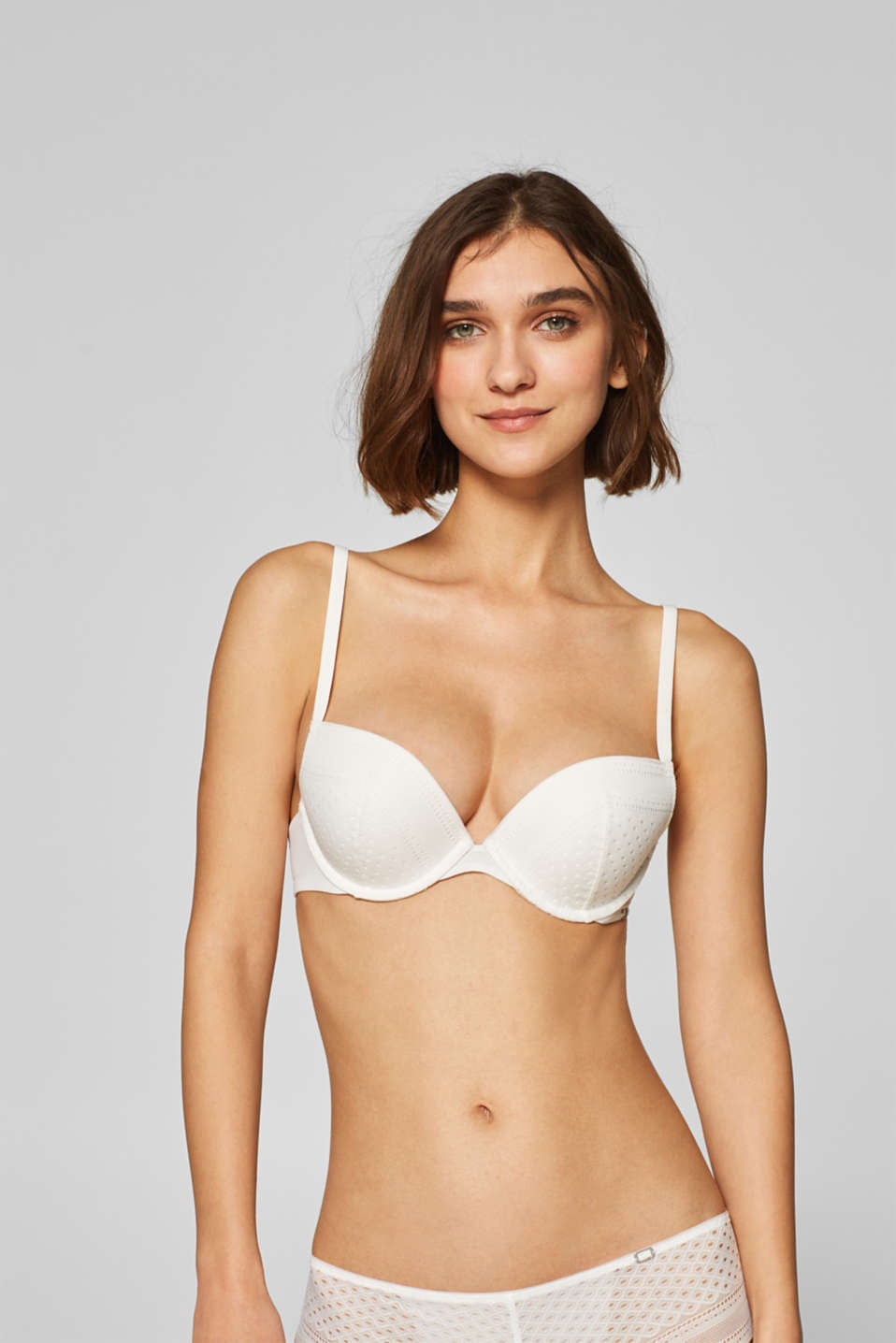 Esprit - NYE push-up bra with lace