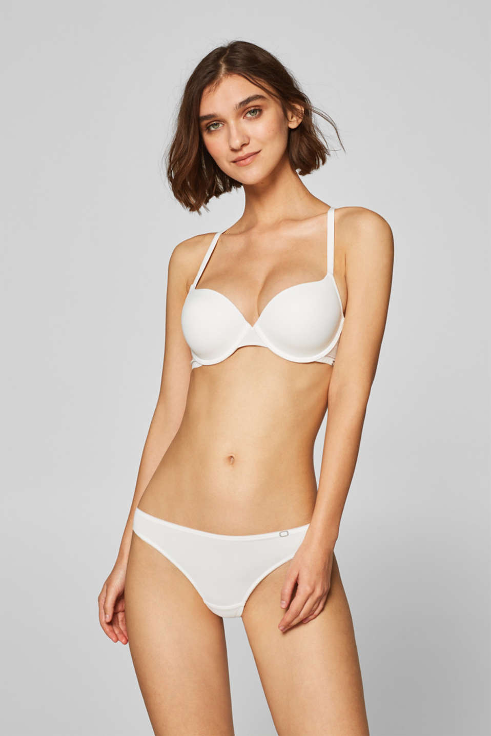 Esprit - NYE hipster thong with lace details