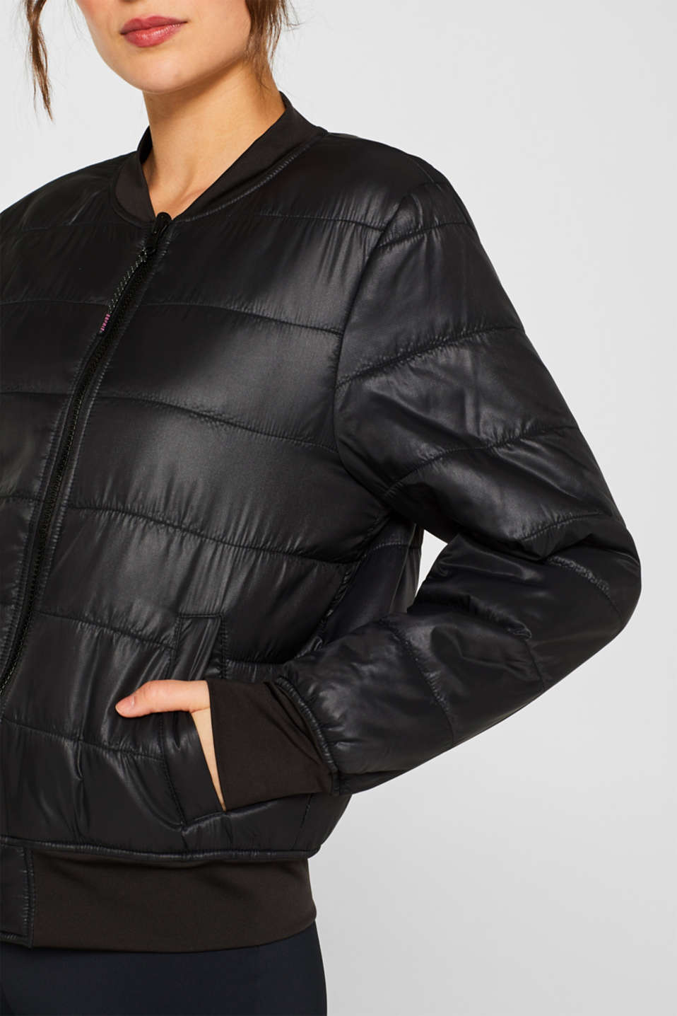 Jackets outdoor woven, BLACK, detail image number 2
