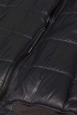 Quilted, reversible bomber jacket