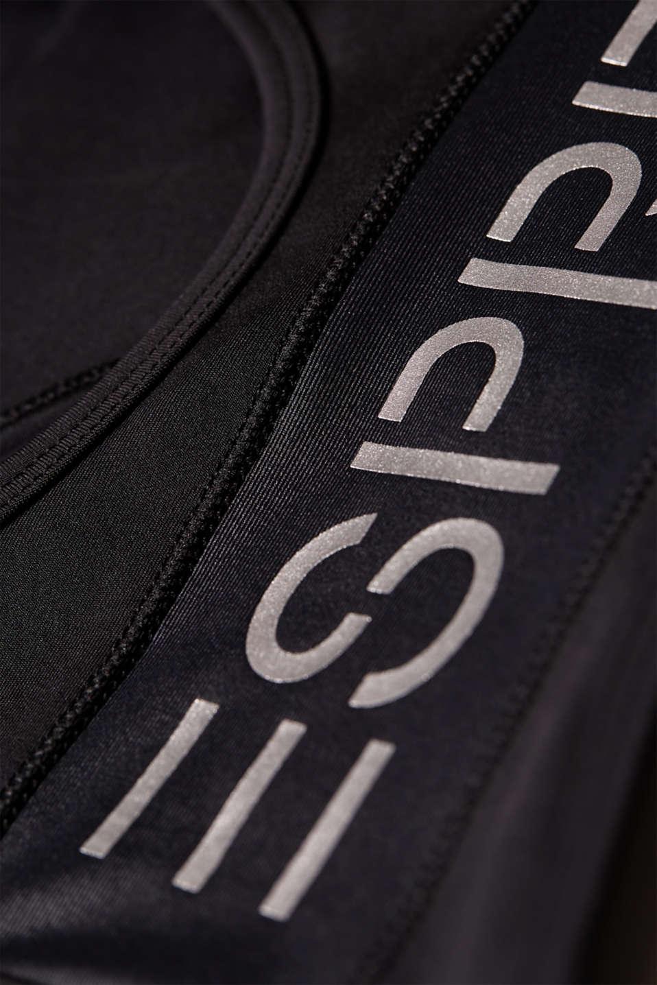 Bras wireless, BLACK, detail image number 4