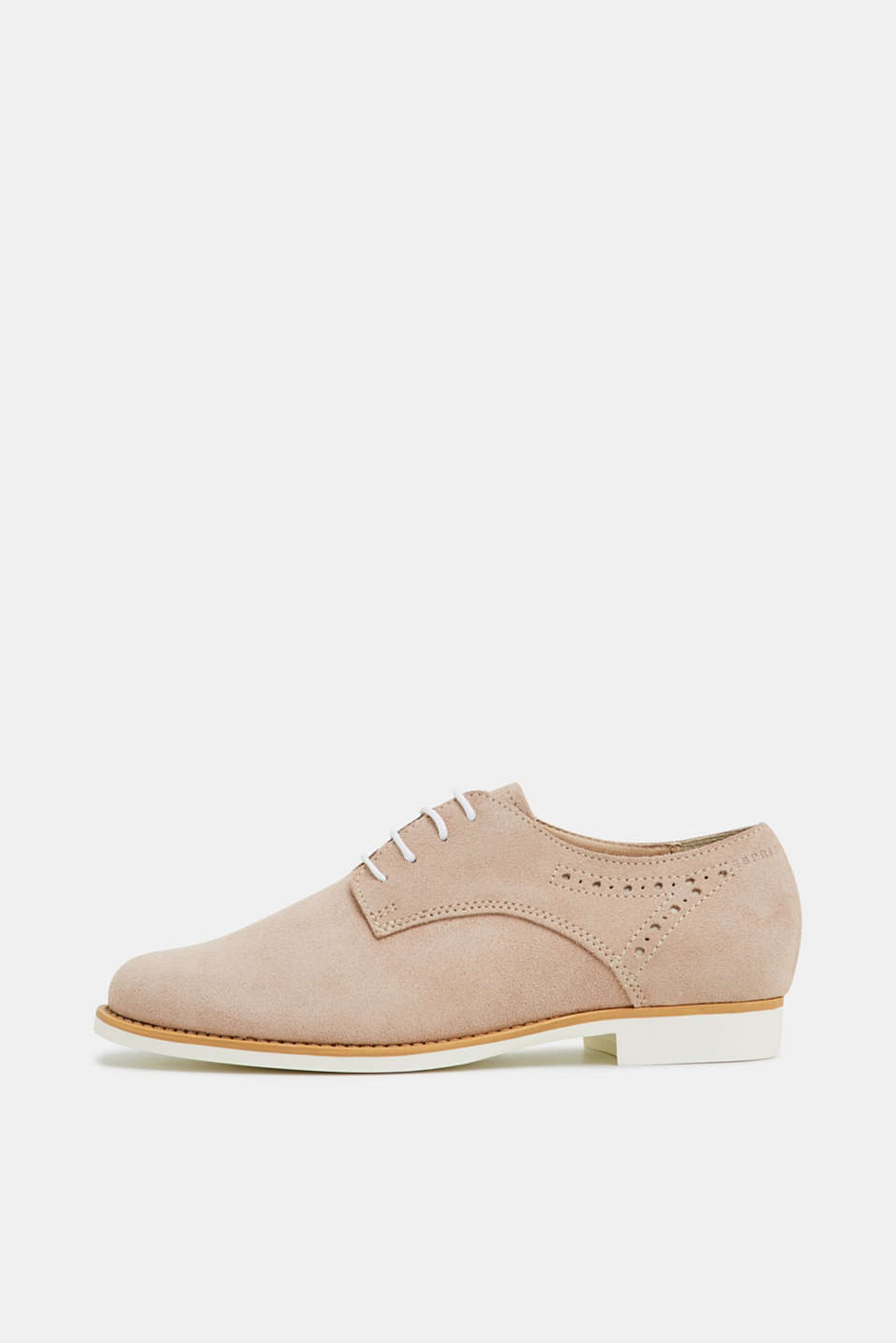 Esprit - Suede lace-up trainers