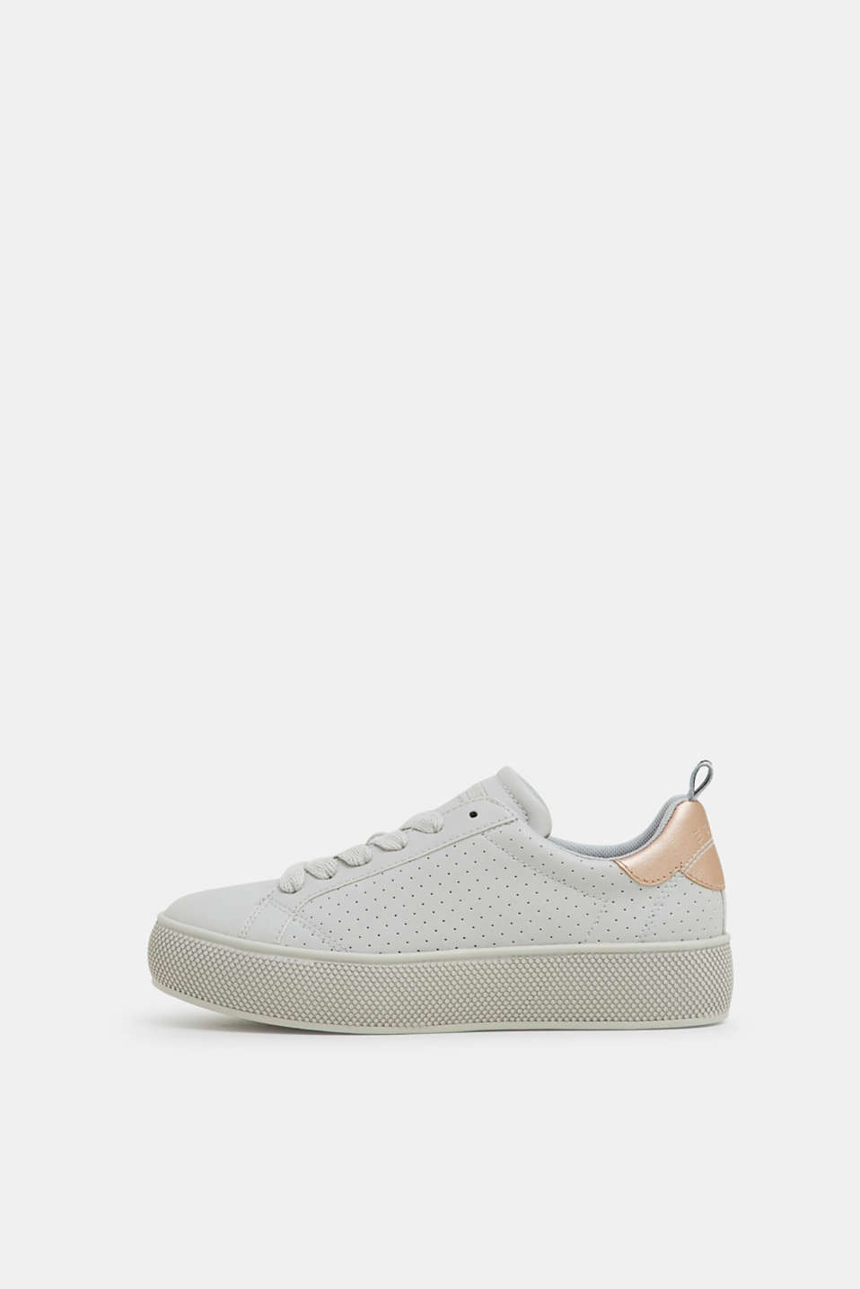 Esprit - Sneakers con plateau in similpelle