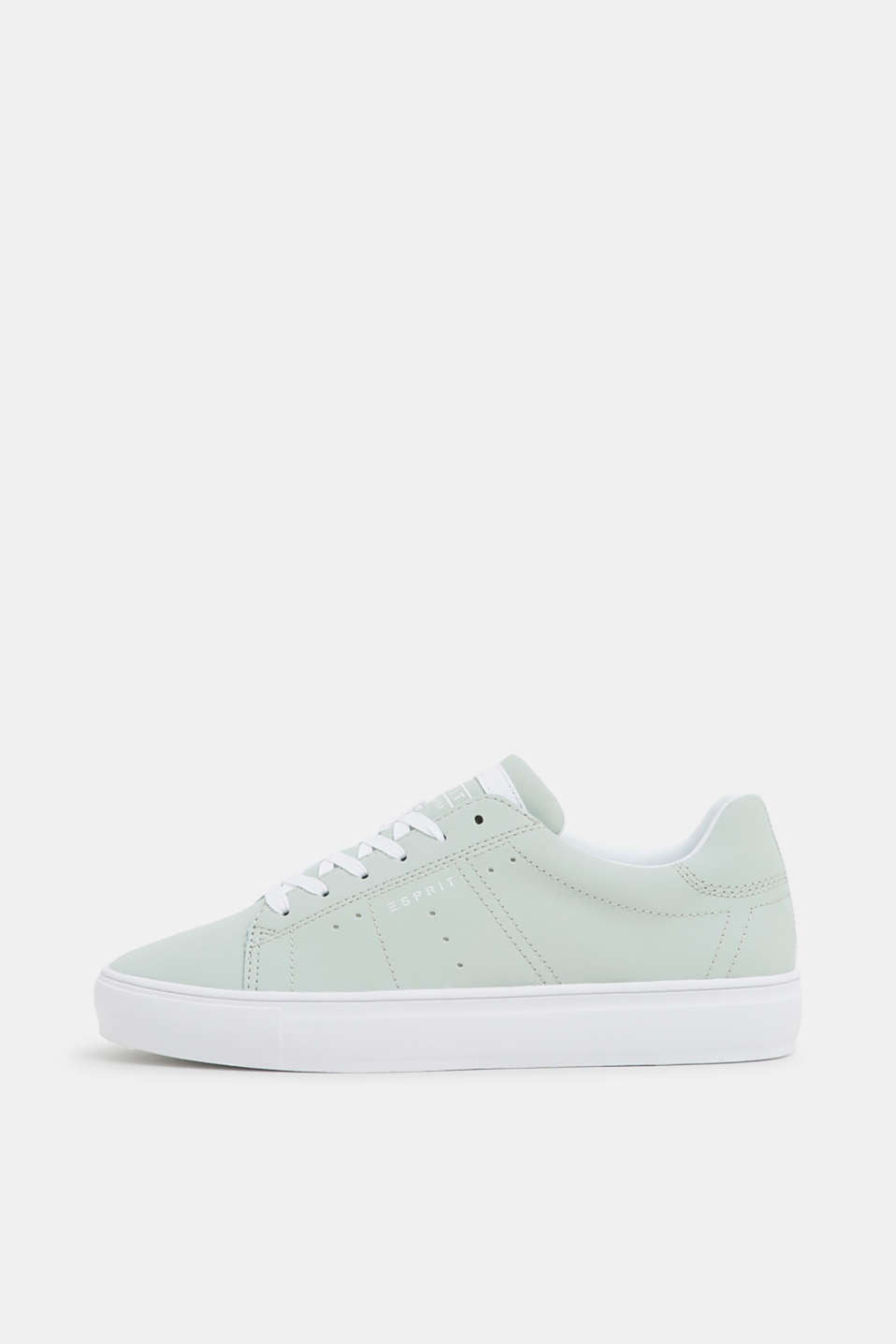 Esprit - Veganer Sneaker in Nubuk-Optik