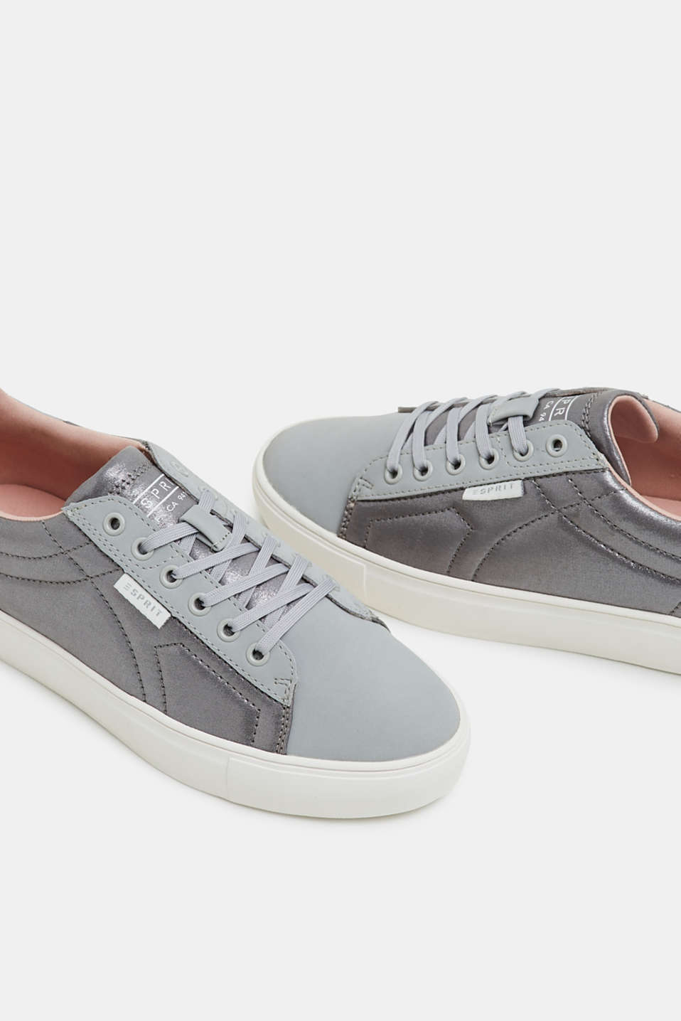 Casual Shoes textile, GREY, detail image number 4