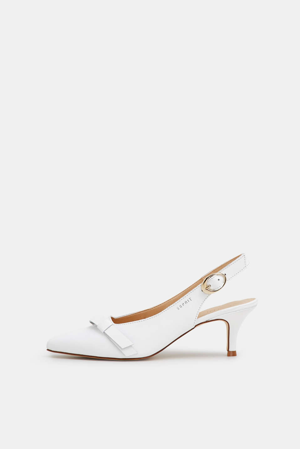 Esprit - Slingback-Pumps in Leder-Optik
