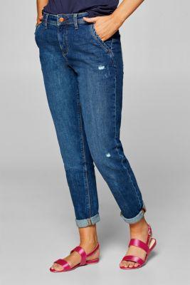 Esprit Platte sandalen met een matte metallic look kopen