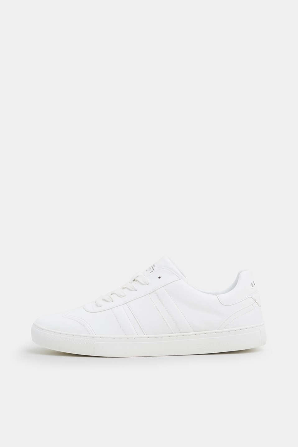 Esprit - Trendy, faux leather trainers