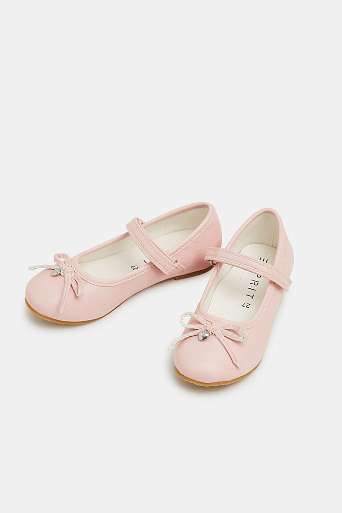 Faux leather ballerinas, LIGHT PINK, detail image number 1
