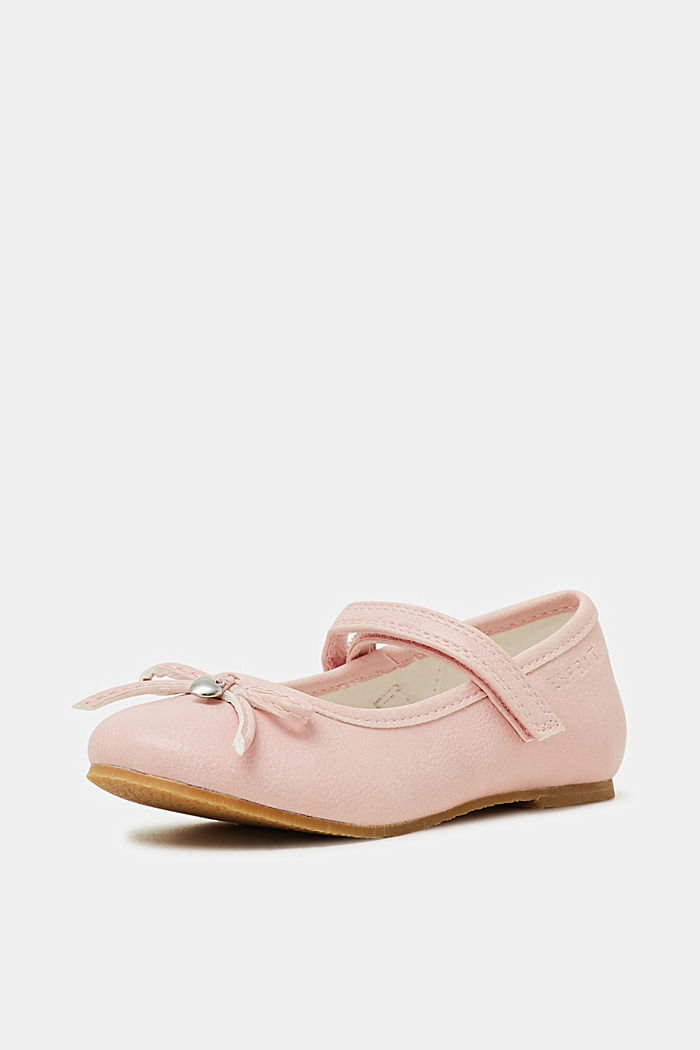 Faux leather ballerinas, LIGHT PINK, detail image number 2