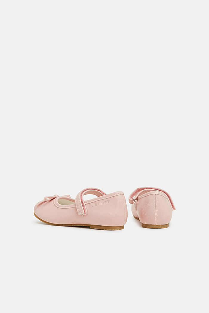 Faux leather ballerinas, LIGHT PINK, detail image number 4