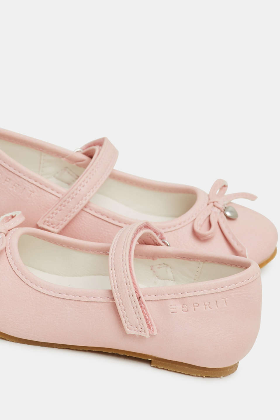 Faux leather ballerinas, LIGHT PINK, detail image number 3