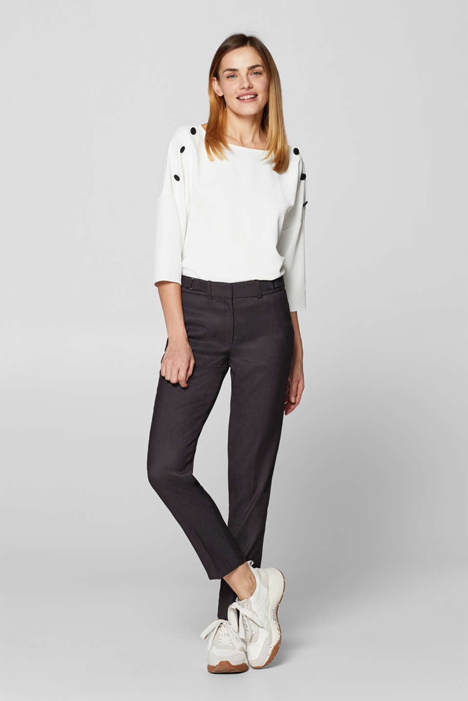 Esprit - STRUCTURE mix + match stretchbroek