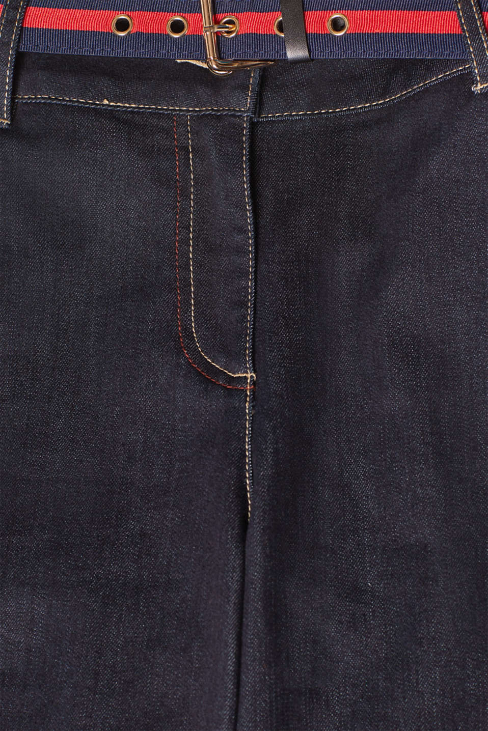 Pants denim, BLUE DARK WASH, detail image number 4