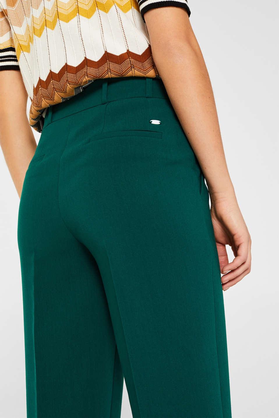 Pants woven, DARK TEAL GREEN, detail image number 2