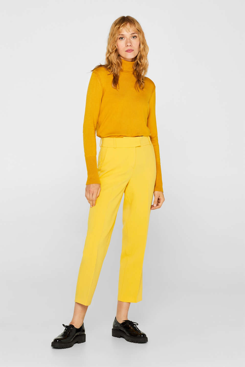 Esprit - Pantalon stretch COLOR Mix + Match