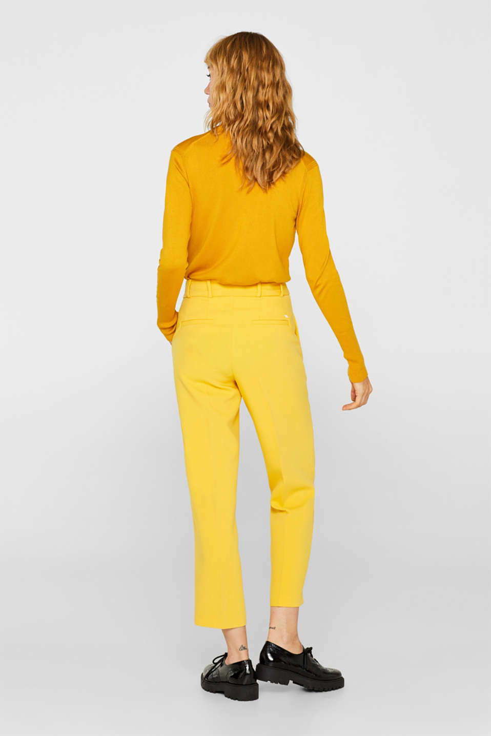 Pants woven, YELLOW, detail image number 3