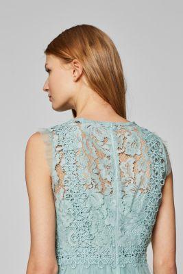 5b585849224 Esprit – Midi šaty z tylu se svrchním dílem z krajky v našem on-line ...
