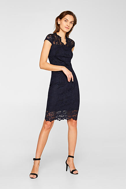 Sheath dress in lace with stretch for comfort dc06ebf159bb