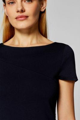 a7191cada722 Esprit - Jersey-Stretch-Kleid mit weitem Rock im Online Shop kaufen