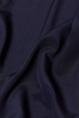Slightly sheer top in 100% silk