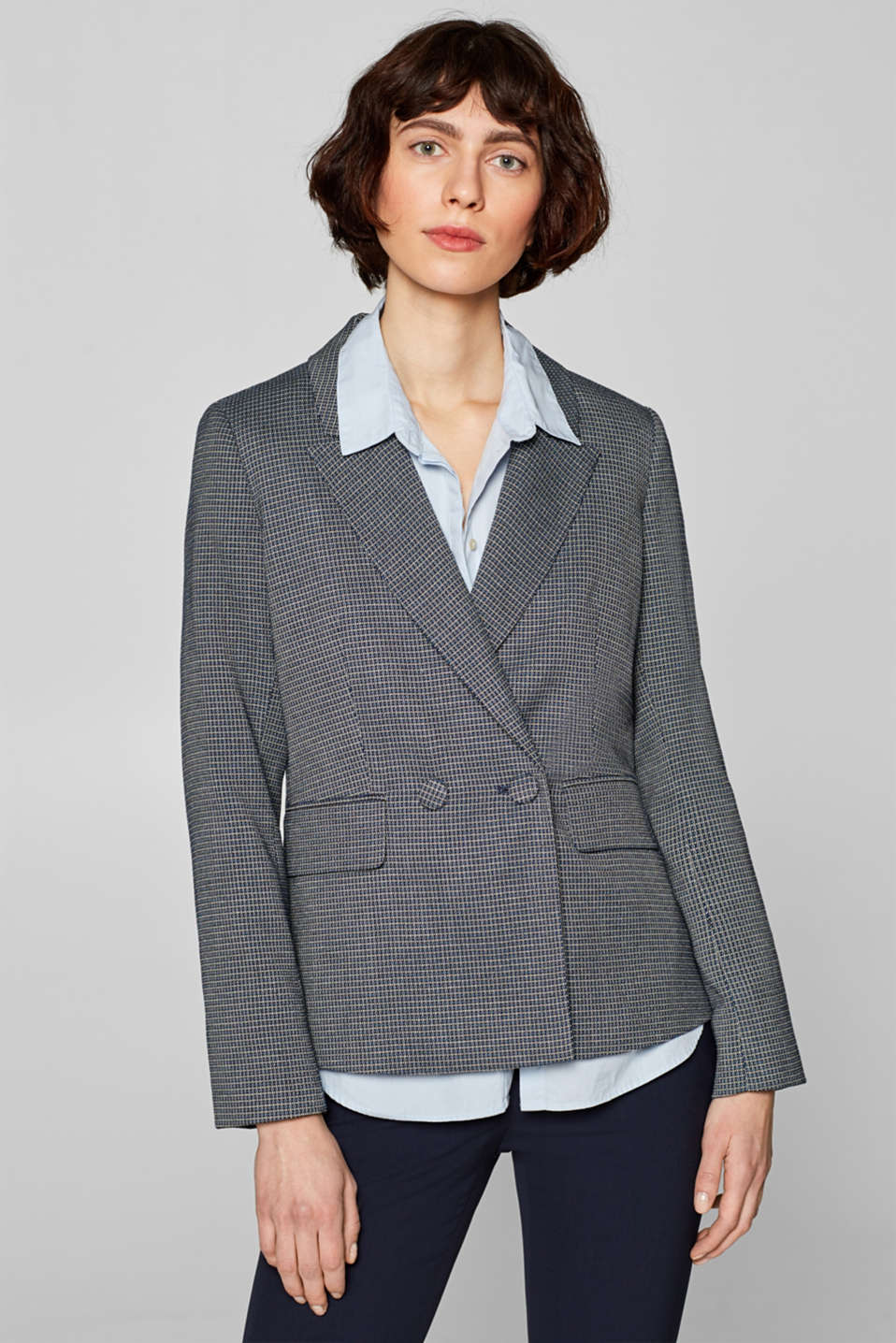 Esprit - MINI JACQUARD mix + match stretchblazer