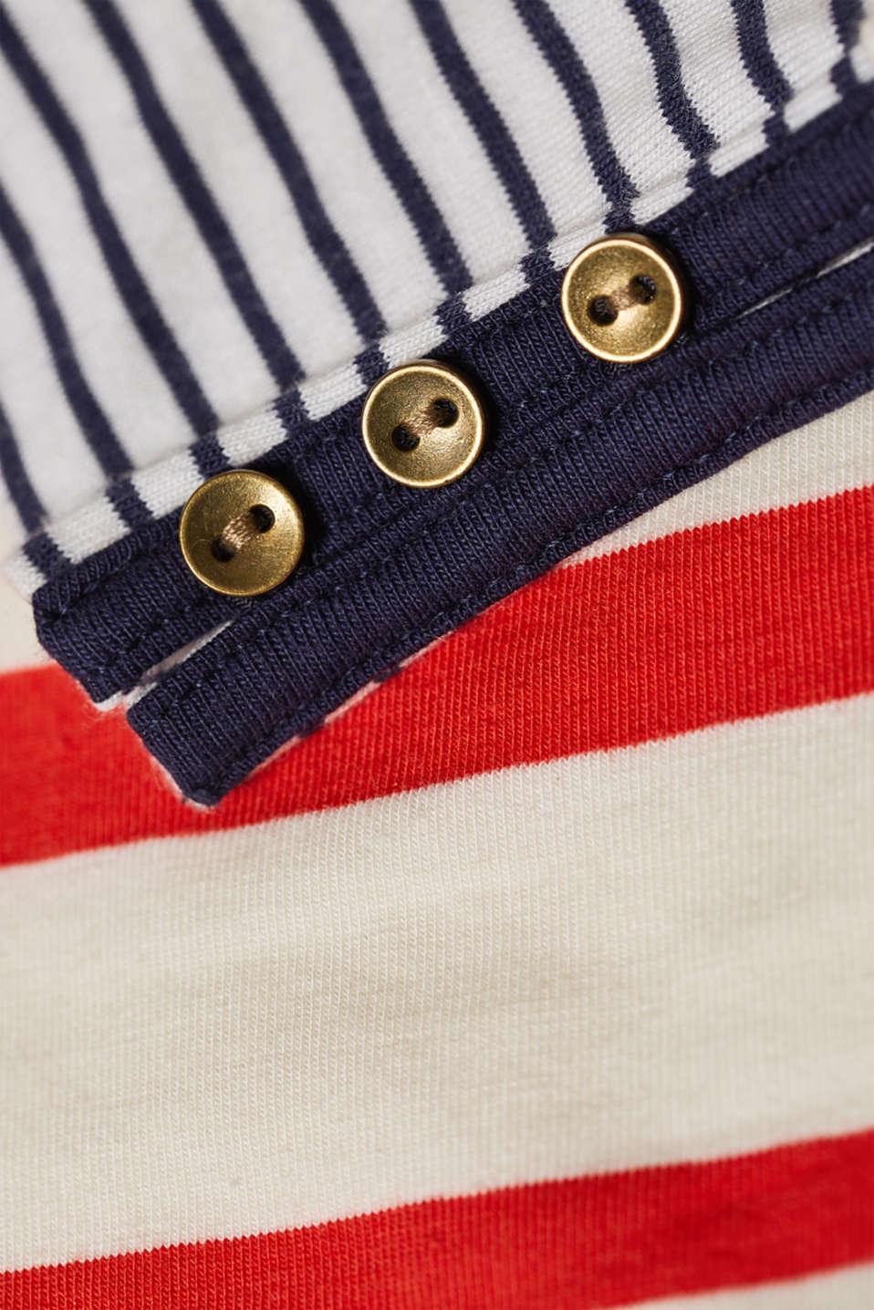 T-Shirts, RED ORANGE, detail image number 4