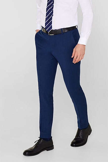 382114d865dbc Esprit  pantalones de traje para hombre en la Online-Shop