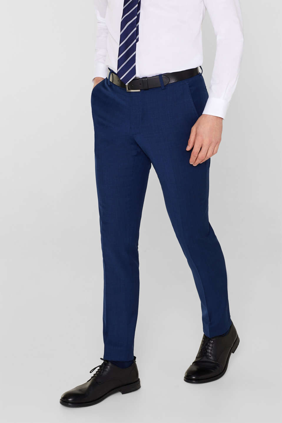 Esprit - Mix + Match ACTIVE SUIT : le pantalon de costume texturé