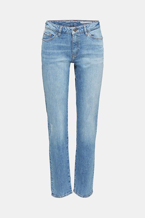 Basic jeans with a vintage finish