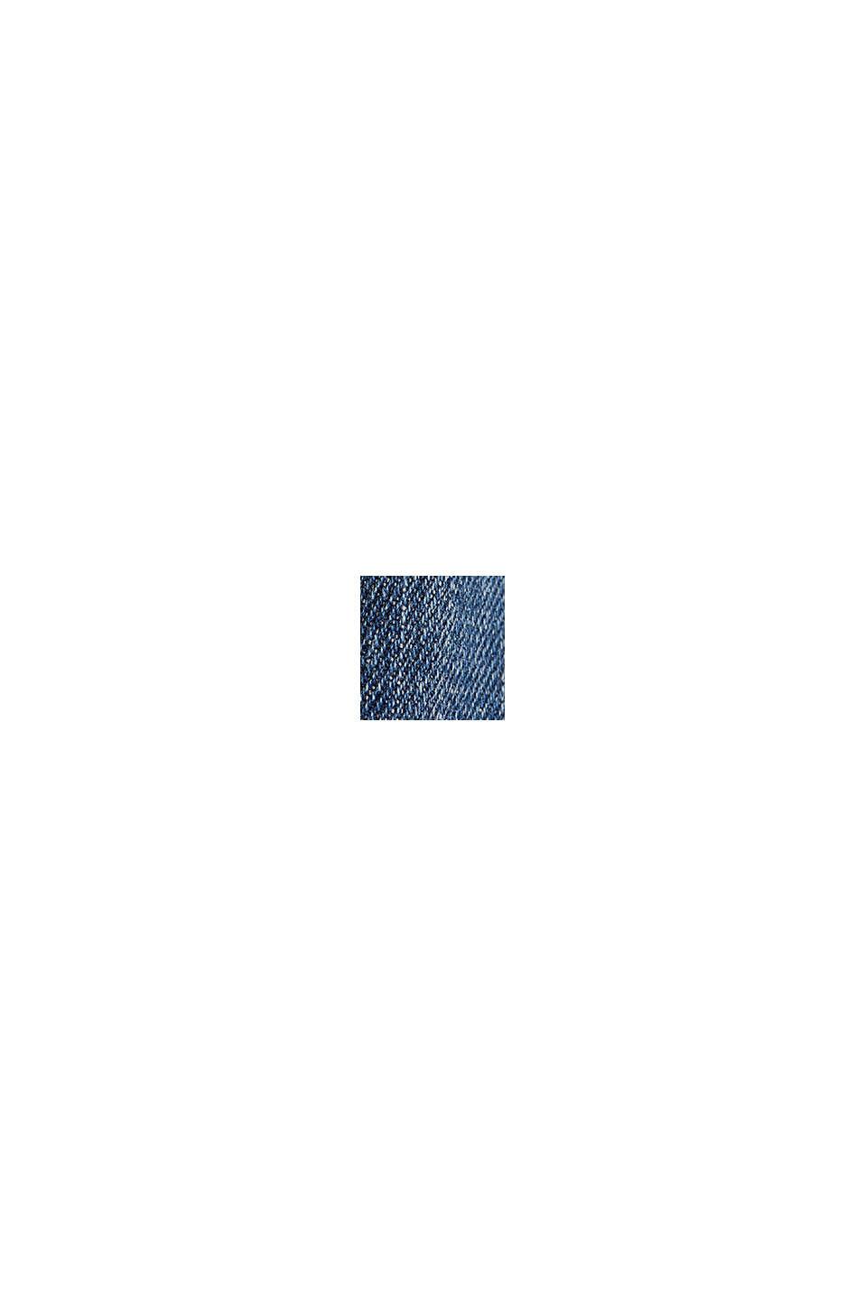 Jeans i sliten look med passpoaler, BLUE MEDIUM WASHED, swatch