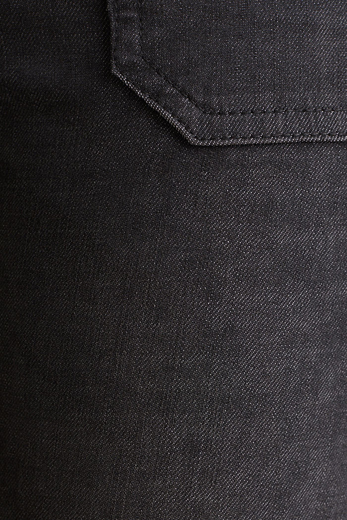 Ankle-length trousers with zips, BLACK, detail image number 4