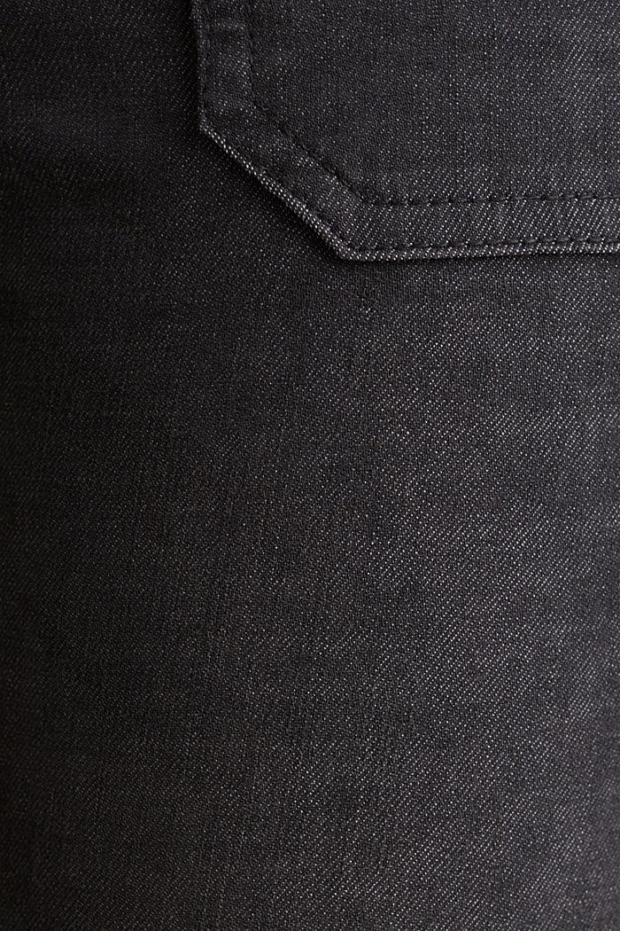 Knöchellange Hose mit Zippern, BLACK, detail image number 4